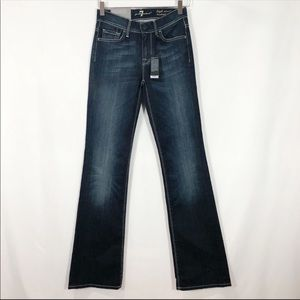 7 For All Mankind High Rise Boot Cut Jean